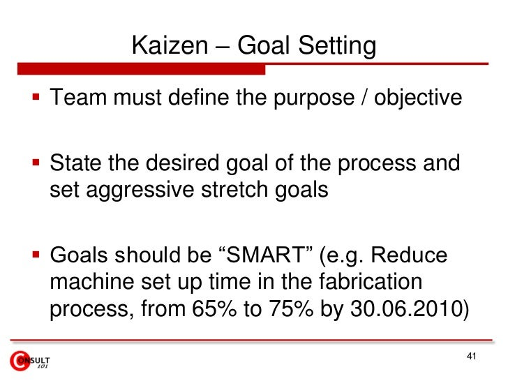 Present Results and Celebrate</li></li></ul><li>Benefits of Kaizen Implementation<br />Makes the job:<br />Easier and safe...