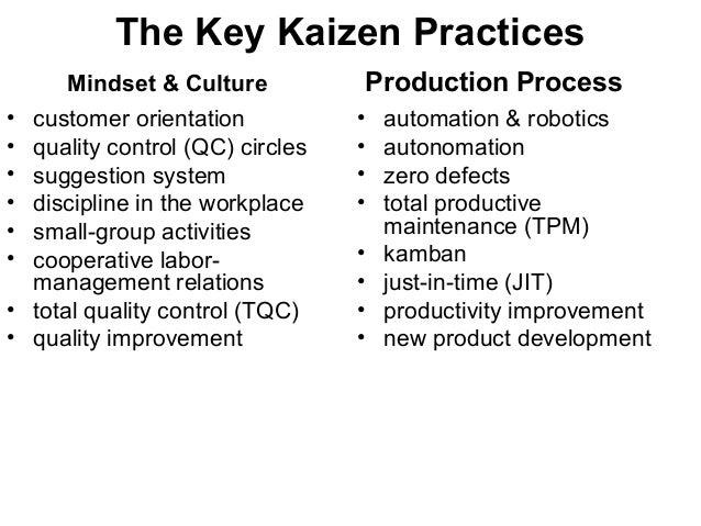 Toyota's Kaizen Experience