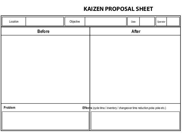 Kaizen Forms Xls
