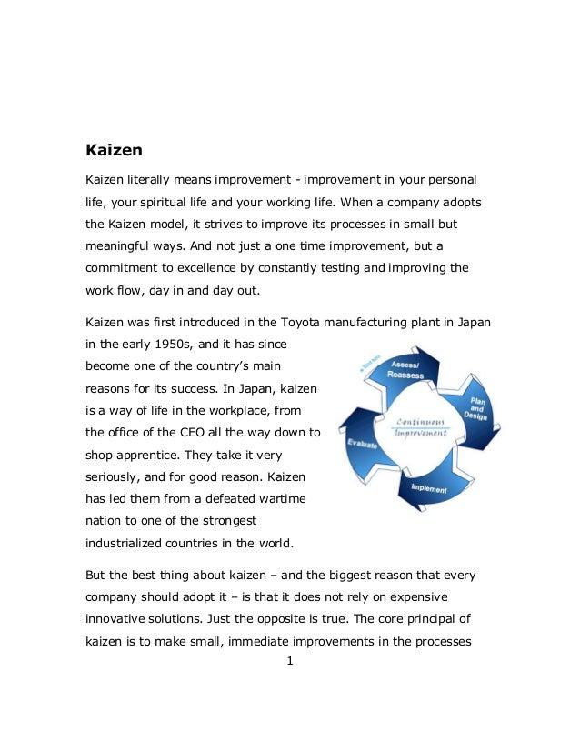 Free Kaizen guide Slide 3