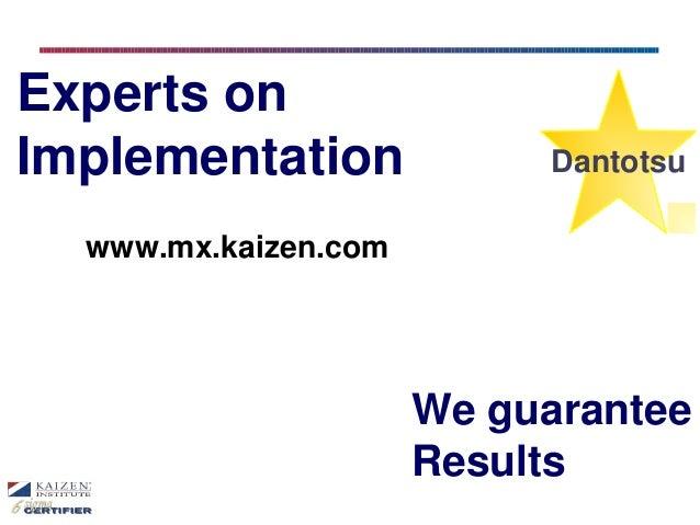 Kaizen Institute Mexico English Version