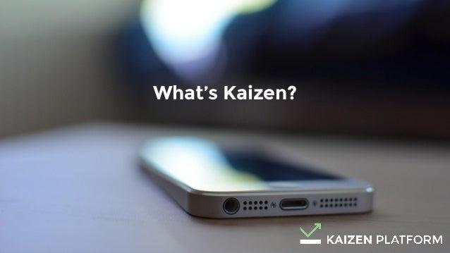 9 What's Kaizen?