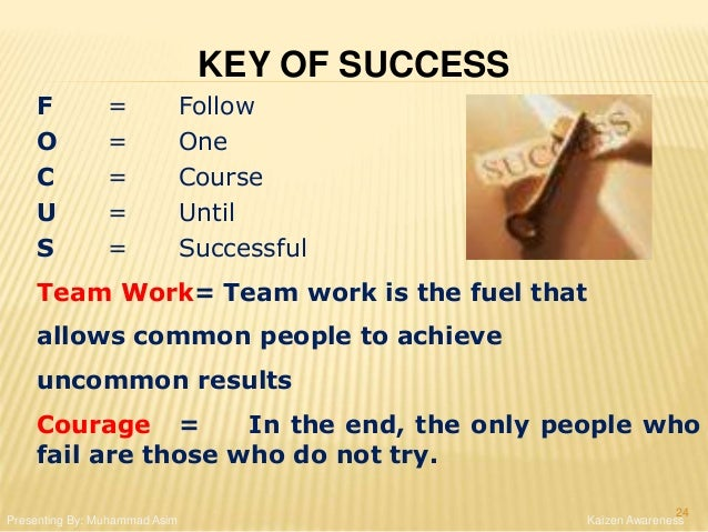 F = Follow O = One C = Course U = Until S = Successful Team Work= Team work is the fuel that allows common people to achie...