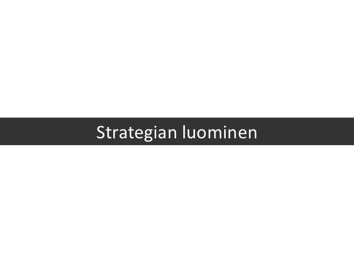 Strategian