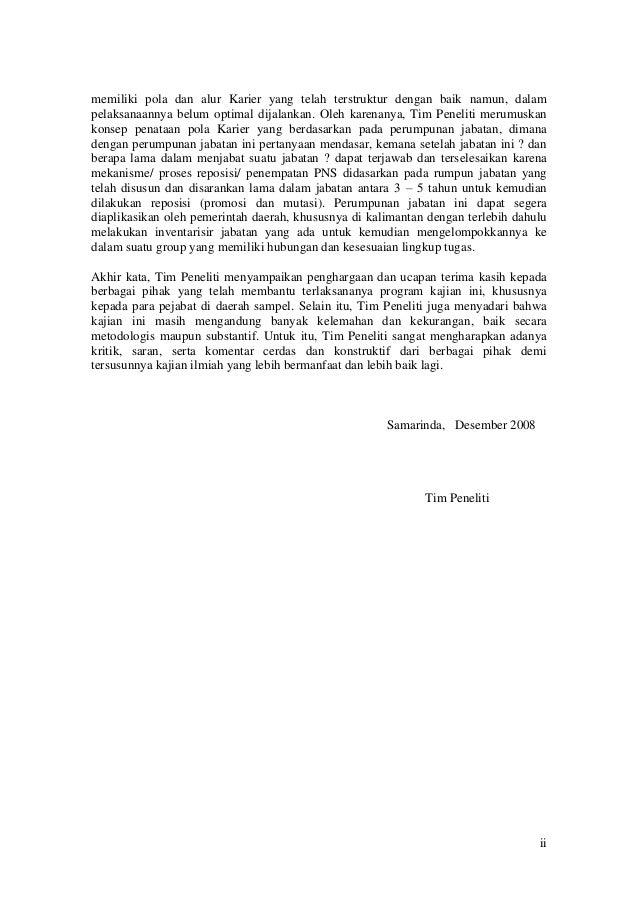 Kajian Penataan Pola Karier PNS Pada Pemerintah Daerah di Kalimantan. Slide 2