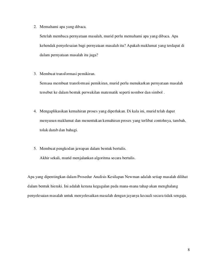 Kajiantindakan Matematik 2012