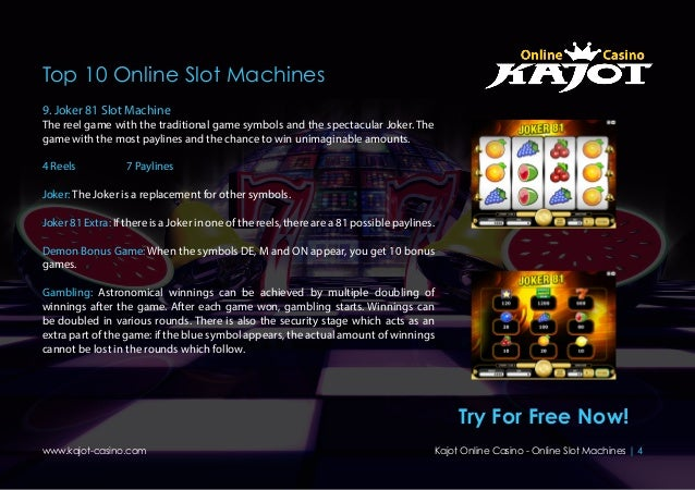 casino online slot machines  de