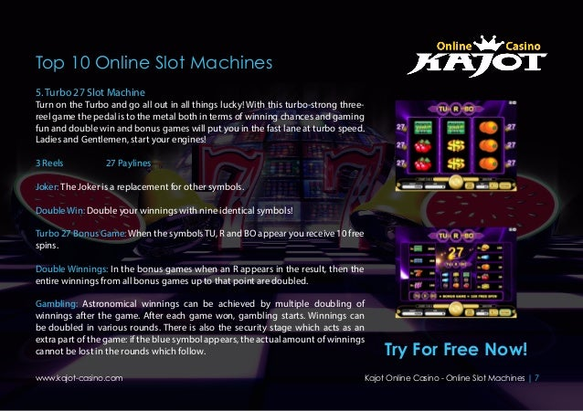 free online slot machines casino de