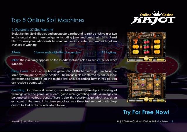Top 5 slot machines choctaw casino durant poker room