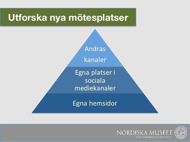 Utforska nya mötesplatser                                               Andras                      kanaler     ...