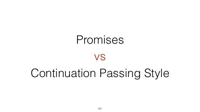 62 Continuation Passing Style Promises Coroutines Работа с асинхронными операциями