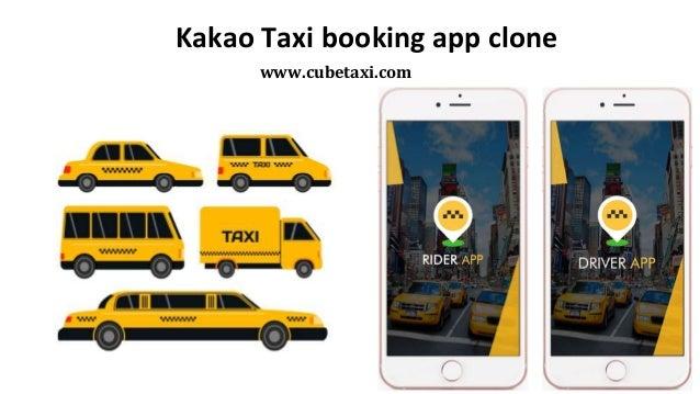 Kakao Taxi booking app clone www.cubetaxi.com