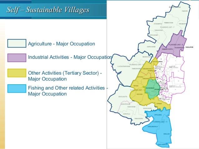Agriculture - Major Occupation Industrial Activities - Major Occupation Other Activities (Tertiary Sector) - Major Occupat...