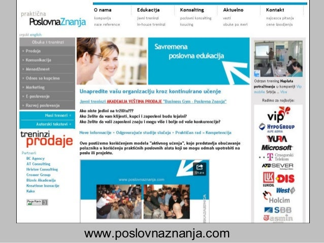 Prodaja na web-u HVALA :)HVALA :) www.poslovnaznanja.comwww.poslovnaznanja.com www.miodragkostic.comwww.miodragkostic.com