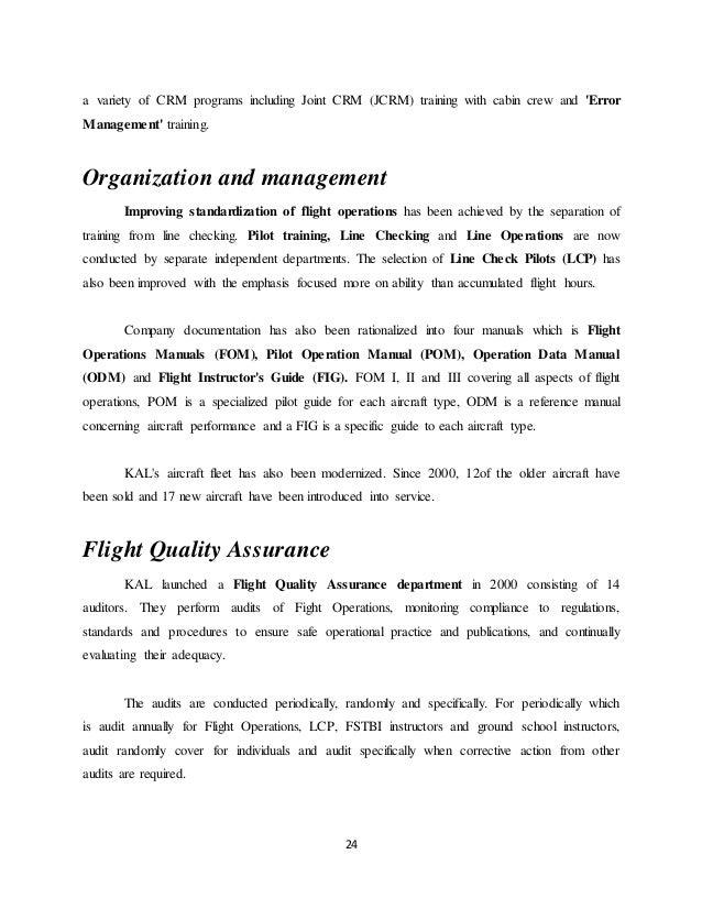 cabin crew flight report