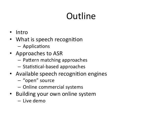 Kaldi-voice: Your personal speech recognition server using open source code Slide 2