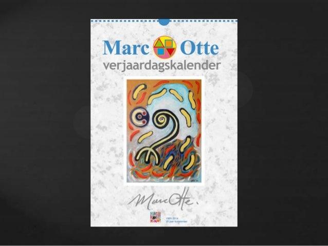 Marc Otte verjaardagskalender