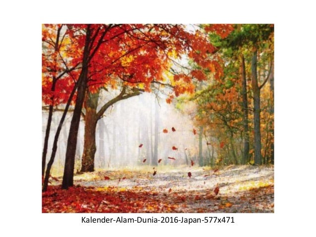 Kalender Gambar Pemandangan Luar Negeri