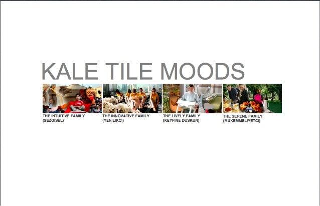 Kale Tile Moods Project (Çanakkale Seramik Kalebodur) with SV