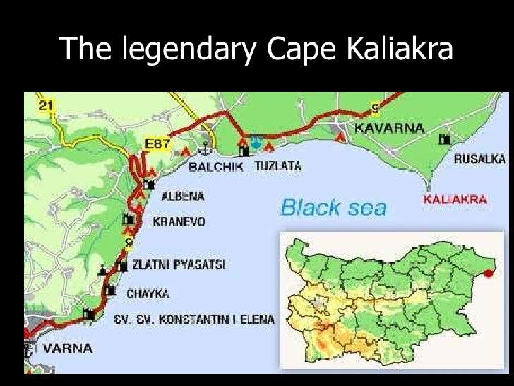 The legendary Cape Kaliakra<br />