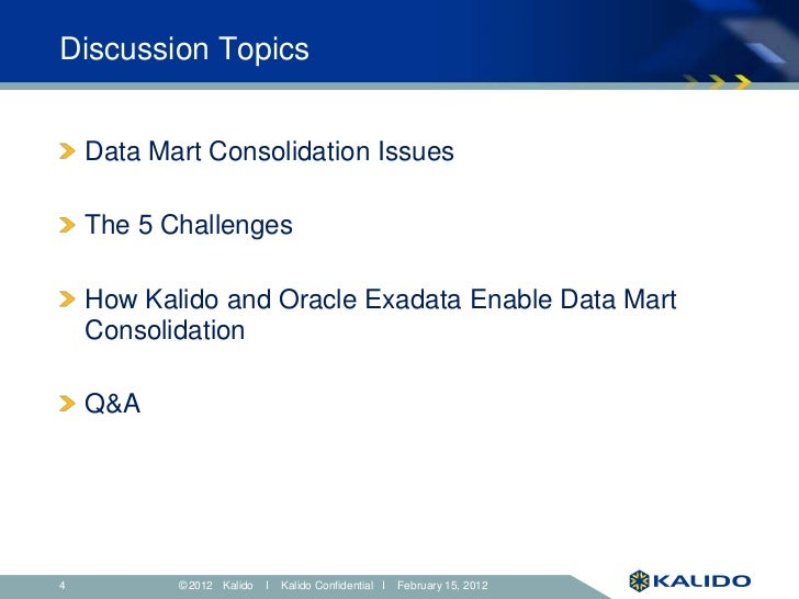 Overcoming the 5 Biggest Challenges in Data Mart Consolidation