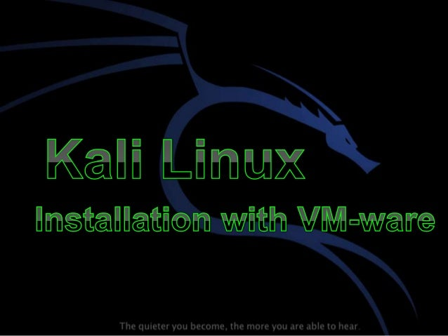 • Kali Linux is an advanced Penetration Testing and Security Auditing Linux distribution. • Preinstalled with numerous pen...