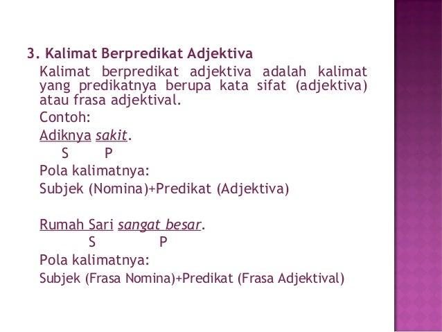 Contoh Frasa Adjektiva Kabar Blok