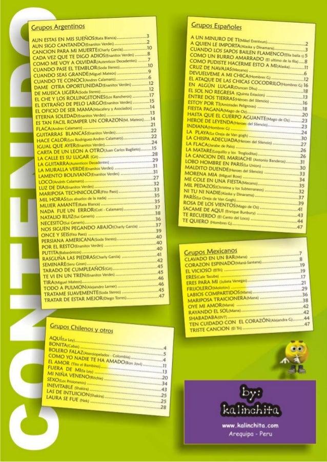 Kalinchita las 100 mejores rockas