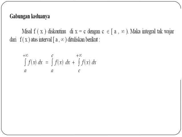 Kalkulus 2 integral