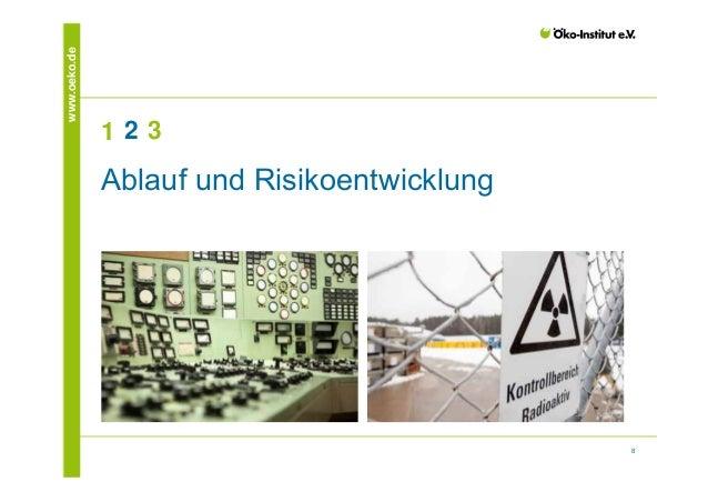 8  www.oeko.de  1 2 3  Ablauf und Risikoentwicklung