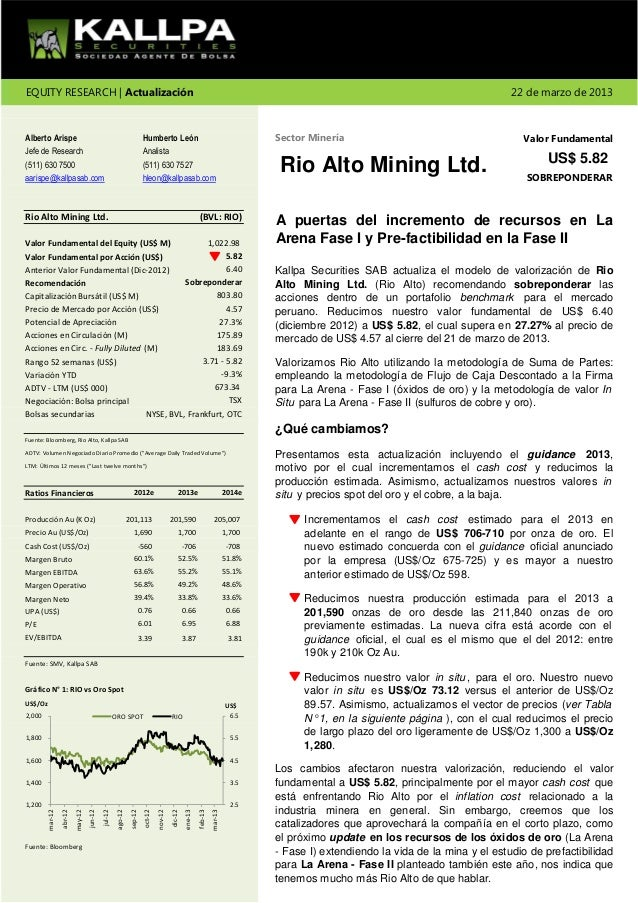 EQUITY RESEARCH | Actualización                                                                                           ...