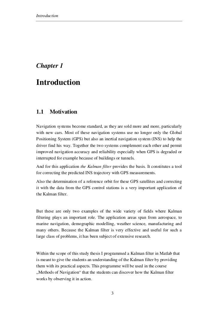 Kalman Filter Implimention In Mathlab