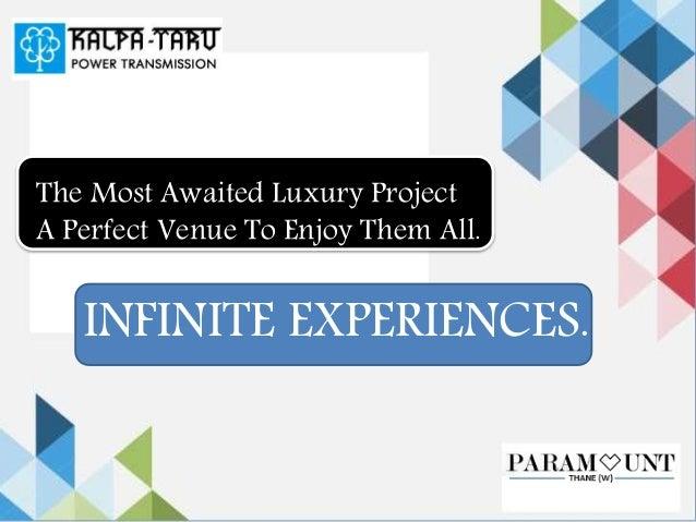 Kalpataru Paramount – 2 BHK Apartments at Thane Mumbai