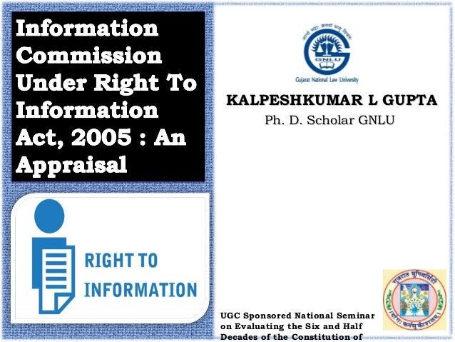 Ph. D. Scholar GNLUPh. D. Scholar GNLU KALPESHKUMAR L GUPTAKALPESHKUMAR L GUPTA UGC Sponsored National Seminar on Evaluati...