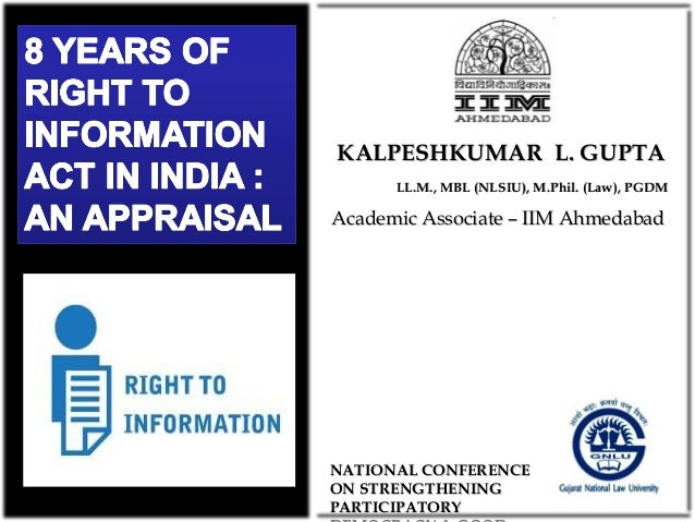 KALPESHKUMAR L. GUPTA LL.M., MBL (NLSIU), M.Phil. (Law), PGDM  Academic Associate – IIM Ahmedabad  NATIONAL CONFERENCE ON ...