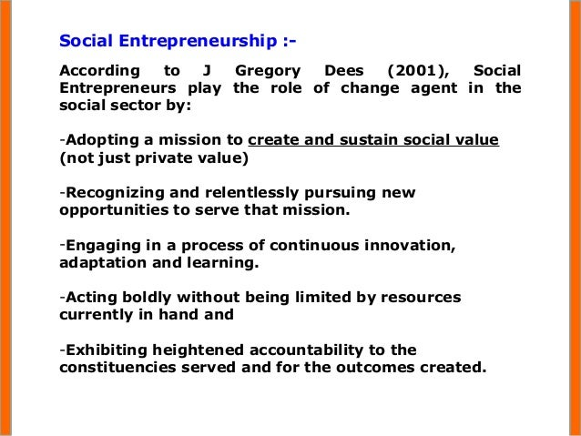 a case study about the importance of social entrepreneurship The role of social enterprise support organisations the unit of analysis is the social enterprise, and to select the four case studies, we used purposeful sampling by using multiple cases, one can study patterns, similarities and differences across cases while avoiding coincidental occurrences (eisenhardt, 1991 yin, 1989.