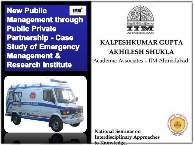 Academic Associates – IIM AhmedabadAcademic Associates – IIM Ahmedabad KALPESHKUMAR GUPTAKALPESHKUMAR GUPTA AKHILESH SHUKL...