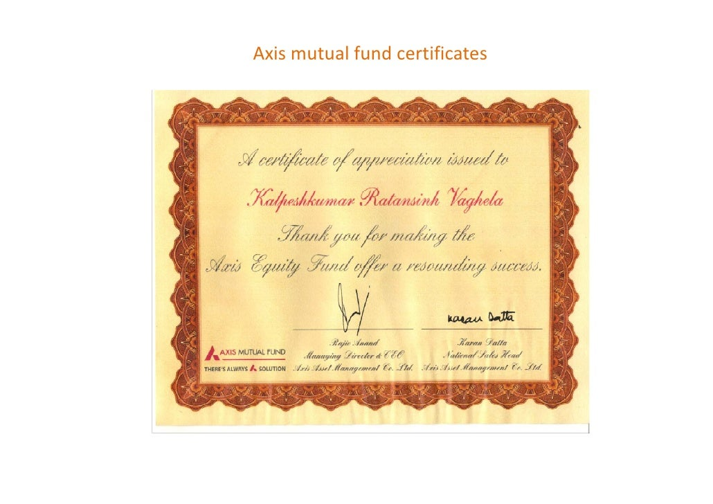 Achievements in Insurance and mutual fund business