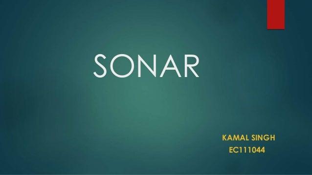 SONAR  KAMAL SINGH  EC111044