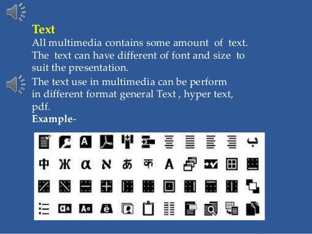 Interesting presentation formats