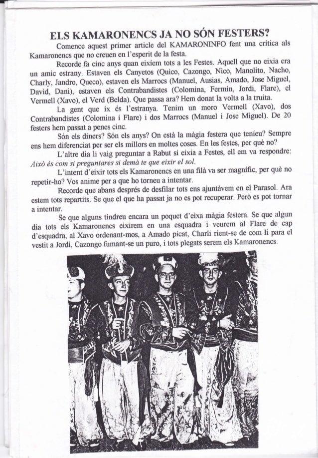 Kamaroninfo núm. 16 juliol 1997 Slide 2