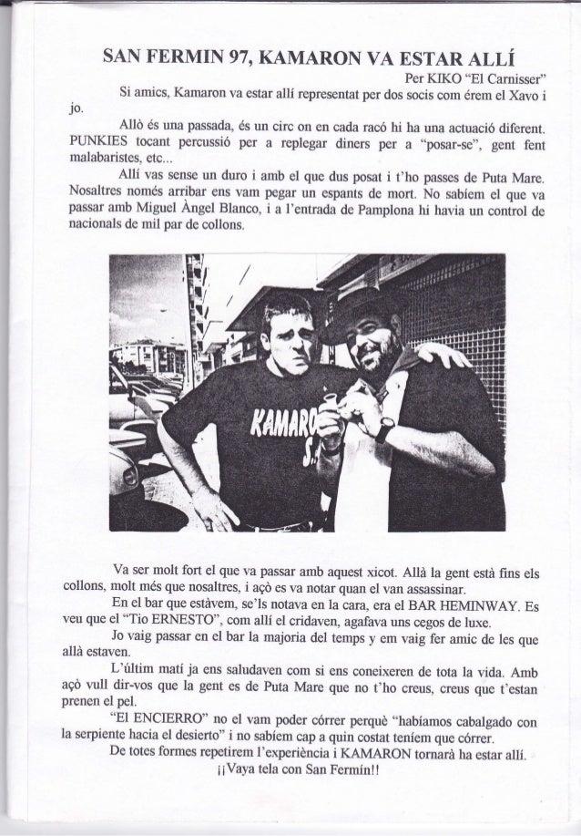 Kamaroninfo núm. 16 juliol 1997 Slide 3