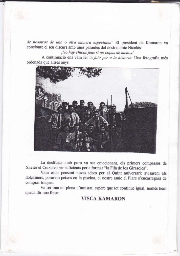 Kamaroninfo núm. 3 juliol 1996 Slide 3