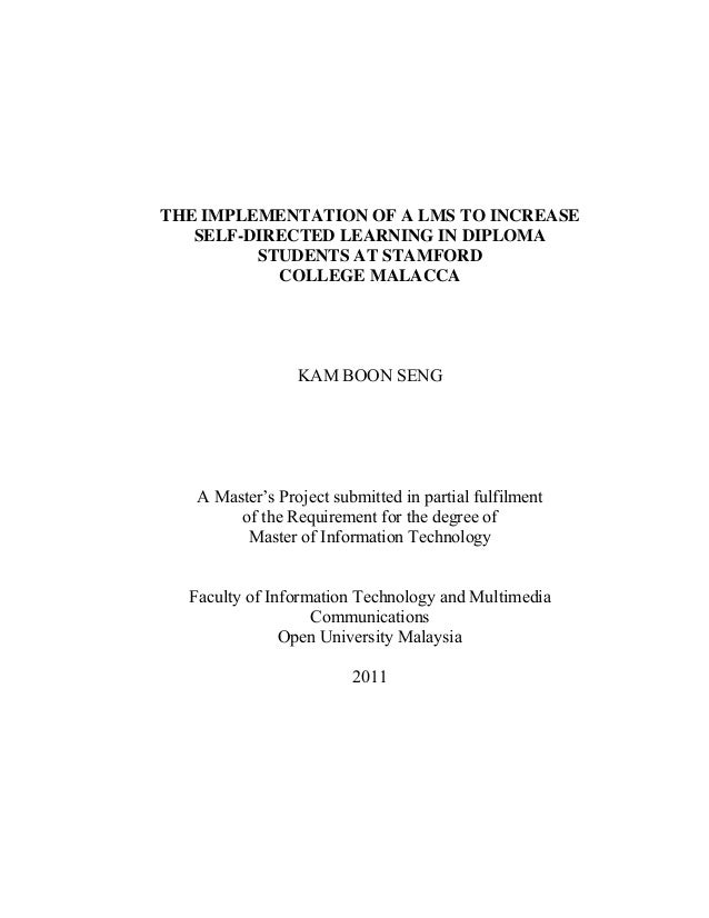 Masters thesis on immigrant students literacy