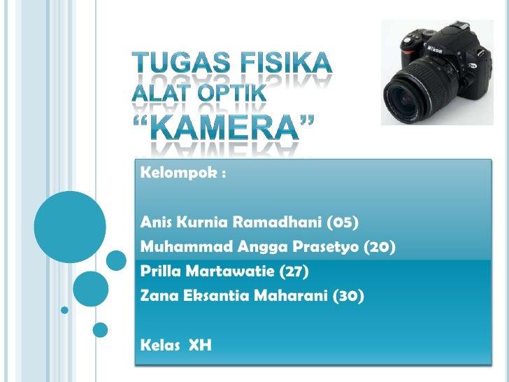 optik kamera