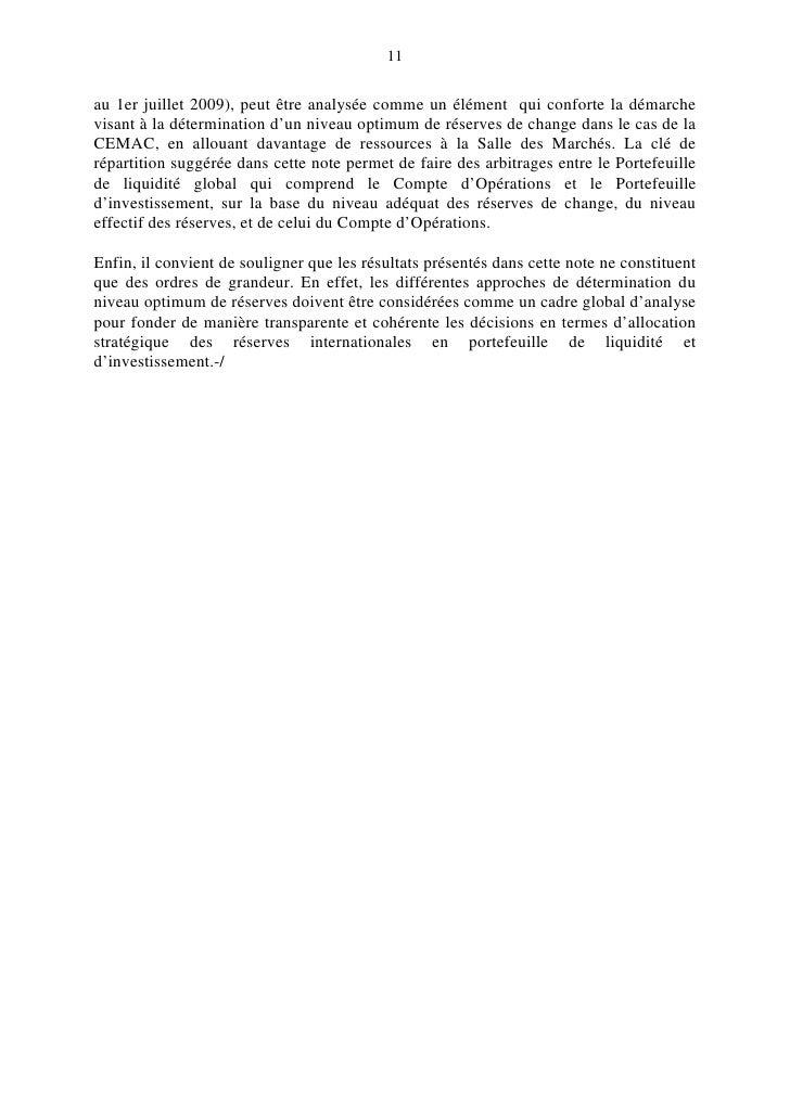 11   au 1er juillet 2009), peut être analysée comme un élément qui conforte la démarche visant à la détermination d'un niv...