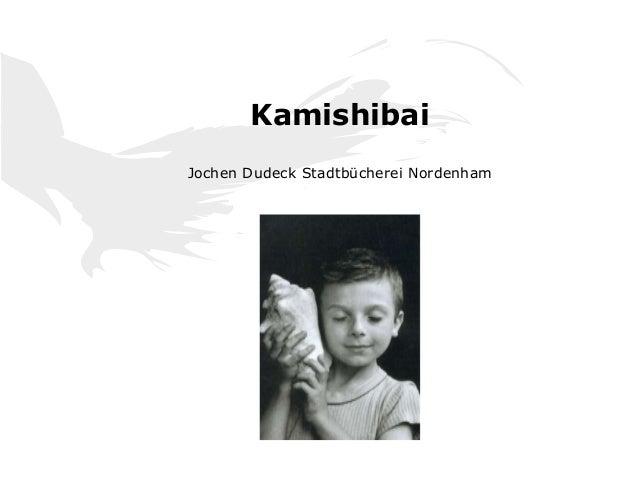 Kamishibai Jochen Dudeck Stadtbücherei Nordenham