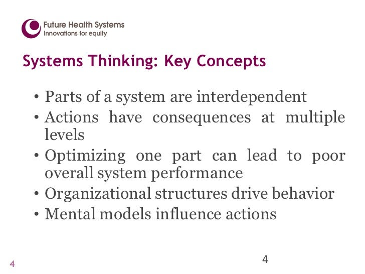 Complex Adaptive Systems in Health