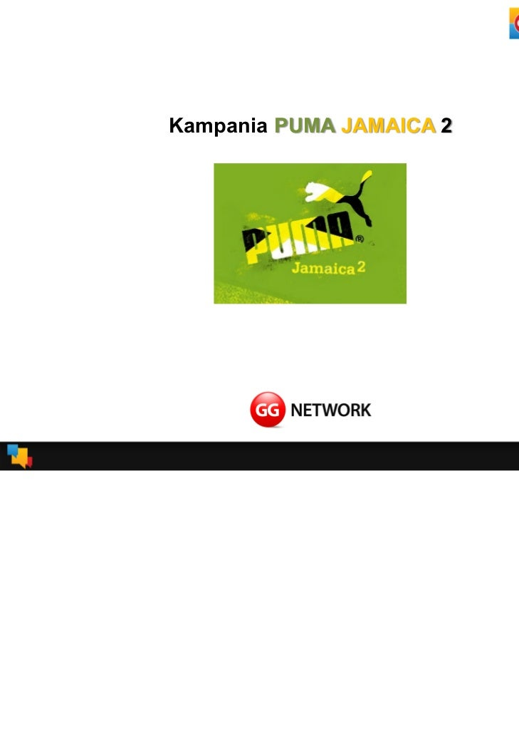 Kampania PUMA JAMAICA 2