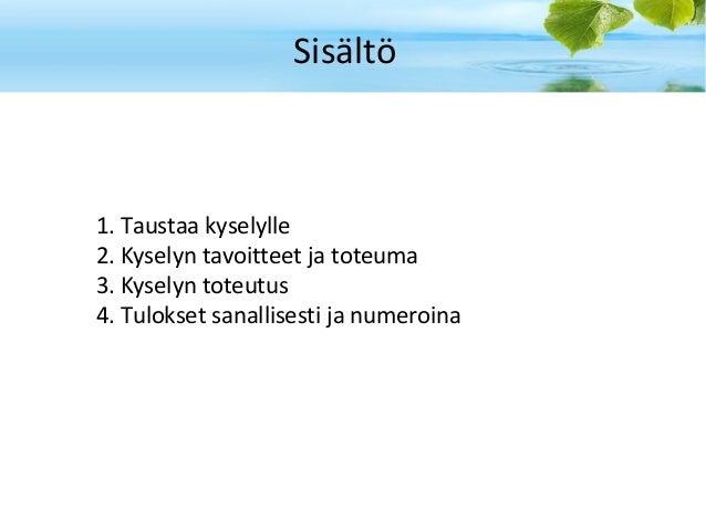 Kampus kyselyn tulokset_v1.0 Slide 2